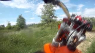 KTM 200 EXC first ride