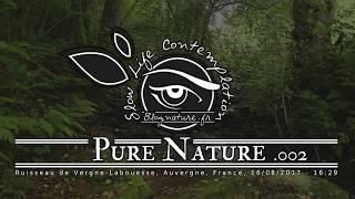 Slow Life Contemplation - Pure Nature n°002 - Ruisseau de Vergne Labouesse