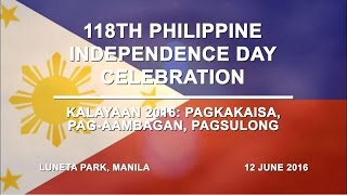 118th Philippine Independence Day Celebration