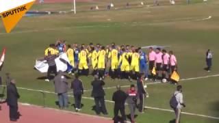 بالفيديو...الجمهور السوري خرق التوقعات في مباراة الديربي بمساعدة رجال الأمن