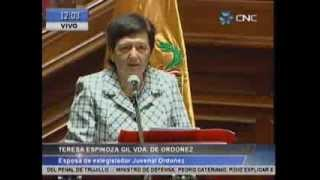 Ceremonia de homenaje póstumo a exlegislador Juvenal Ordoñez