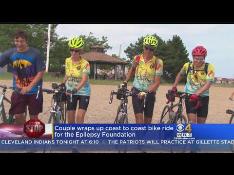 Pitts Stop: Couple Rides Coast To Coast For Epilepsy Foundation