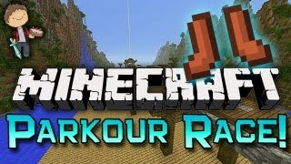 Minecraft: PARKOUR RACING Freedom Jumps w/Mitch & Jerome