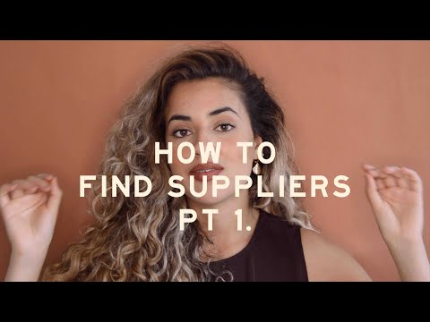 How To Find Vendors, Manufacturers, For Your Fashion Brand | Online Jewelry Business | PART 1