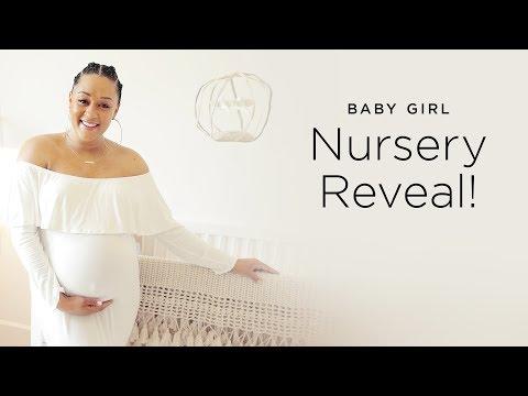 Tia Mowry's Baby Girl Nursery Reveal | Quick Fix