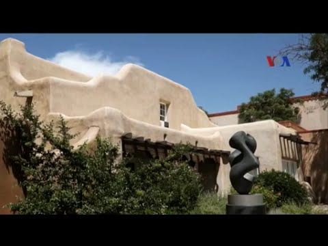 Rumah Adobe di New Mexico - Liputan Feature VOA