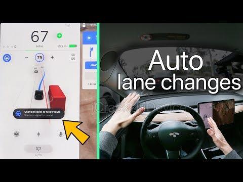 Tesla Model 3 Autopilot Review: Self-Driving Lane Changes! (NO Driver Confirmation)
