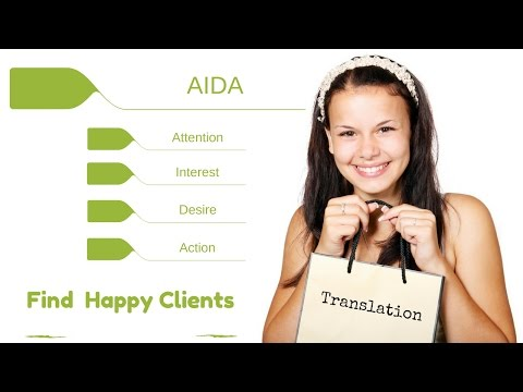 Freelance Translator Tips #2 - AIDA