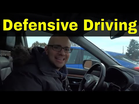 Demonstration Of Defensive Driving Techniques You Should Know