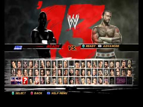 wwe13 mod wii by haytham dabooor youtube