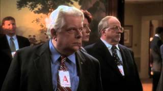 The West Wing first speech of the President