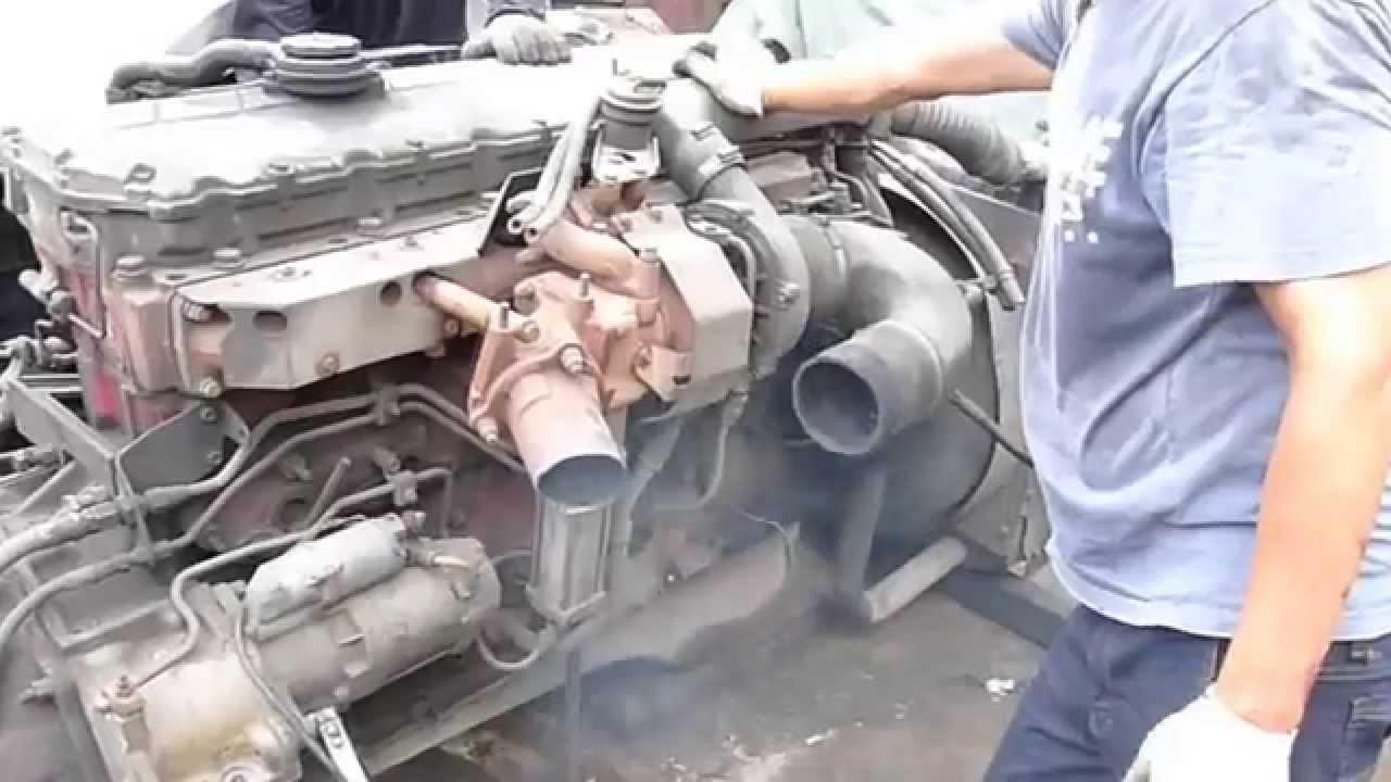 HINO K13CT ENGINE TEST