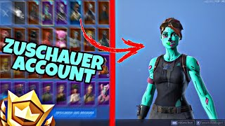 Fortnite: SEASON 1 Ghoul Trooper Account get from ZUSCHAUER!! | Spectator Account PRESENT #2