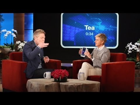 Kenneth Branagh Plays 'Heads Up!'