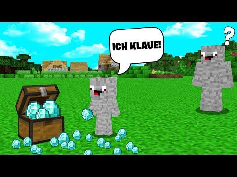 ICH SPIONIERE MEINEN KLEINEN BRUDER AUS in Minecraft