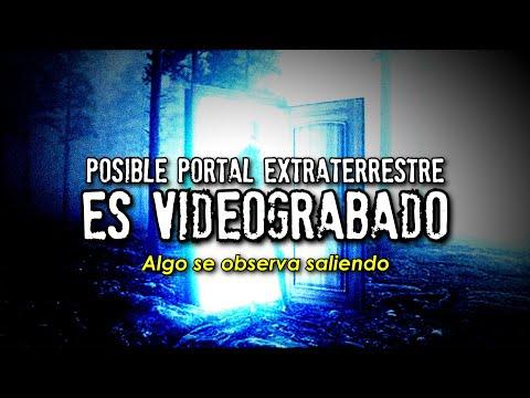 Descubren posible portal extraterrestre y es videograbado