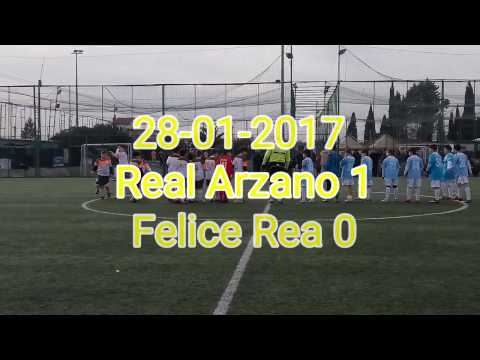 28-01-2017 Categoria 2006 Real Arzano 1 - Felice Rea 0