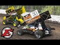 GETTING MY BUTT KICKED BY TONY STEWART AT HIS OWN TRACK | iRacing 410 Sprints at Eldora