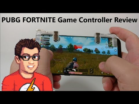 PUBG / FORTNITE Mobile Game Controller Review - Add Shoulder Buttons To Your Phone
