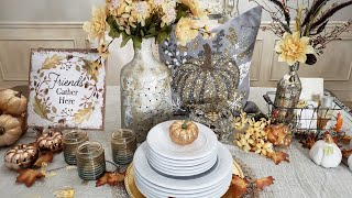 Home Decor Fall Haul/ Homegoods, Dollar Tree and Ross + Decorating tips
