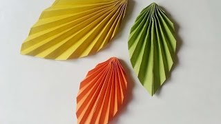 How To Create Easy And Fun Paper Leaves - DIY Crafts Tutorial - Guidecentral