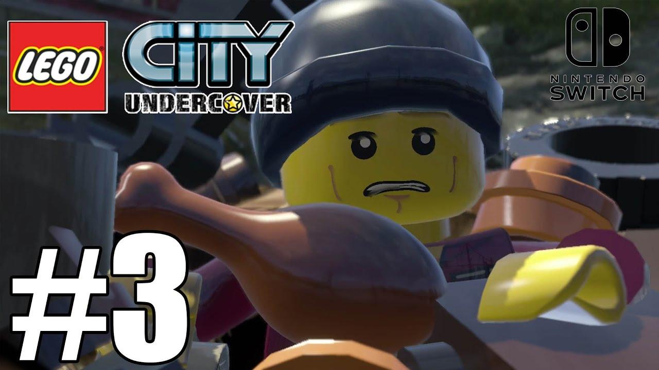 lego city undercover  switch gameplay walkthrough part 3