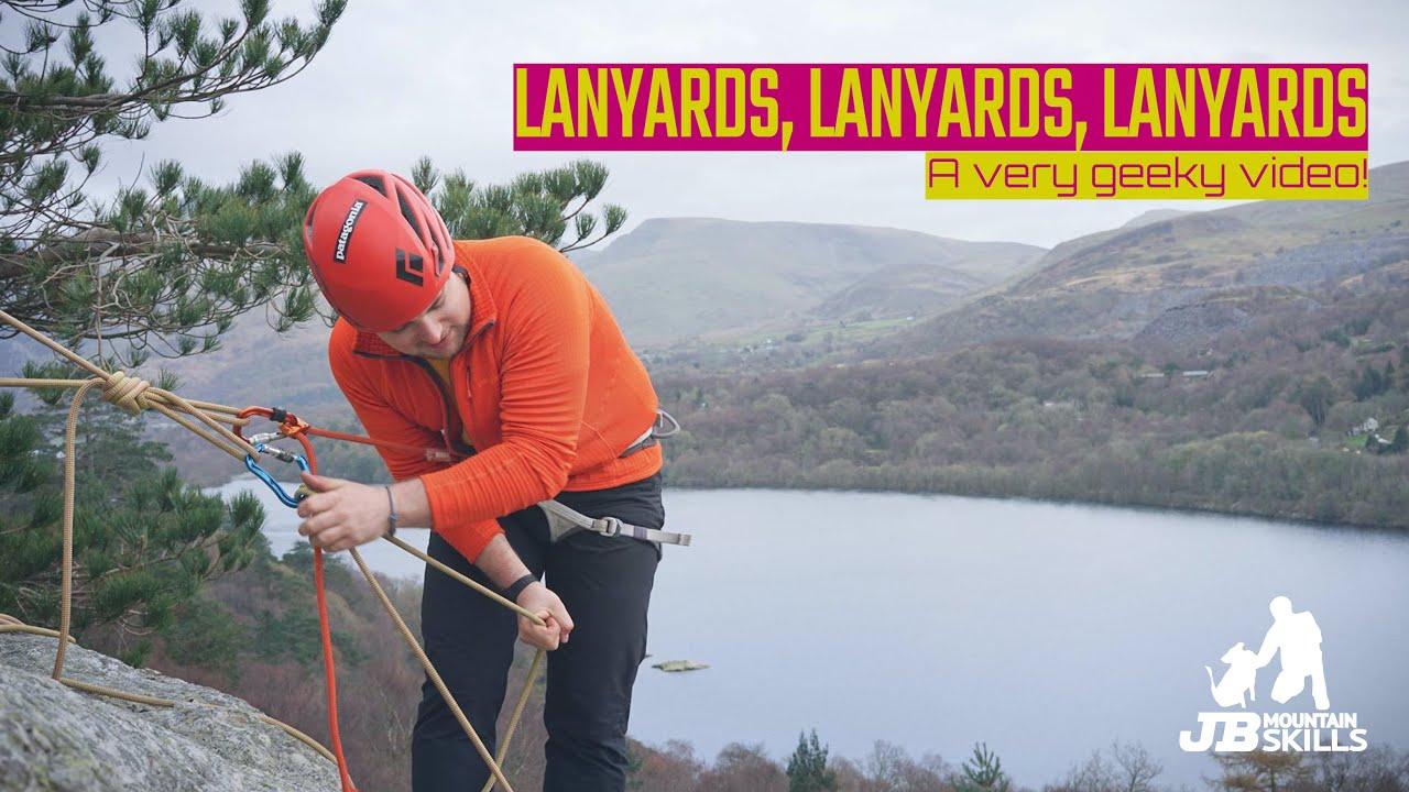 Choosing a lanyard for climbing!