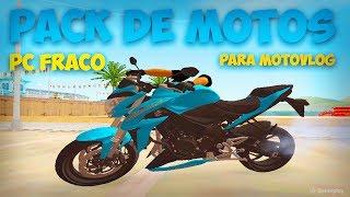 PACK DE MOTOS COM BRAÇO - V3 - PC FRACO - GTA SA
