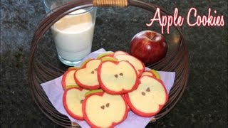 Apple Cookies Made With Refrigerator Cookie Dough