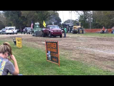 My Brother Sled Pulling @ St. Anne Pumpkin Festival 2015