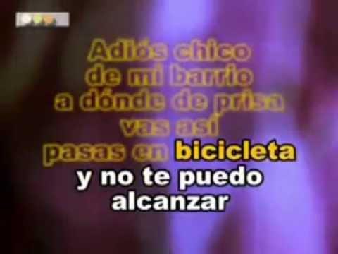 CHICO DE MI BARRIO TORMENTA karaoke| zafirox karaoke movil 301 612 02 23