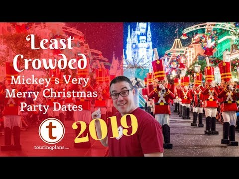 Very Merry Christmas Party 2019.Video Finding The Best Mickey S Very Merry Christmas Party