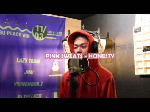 pink sweat$ - Honesty ( cover by Vincent Blue ) #music