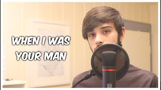 When I Was Your Man - Bruno Mars | Luís Girão - Cover