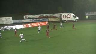 1. FC Saarbrücken - 1.FC Kaiserslautern II  Spielzusammenfassung 16.Spieltag 16/17