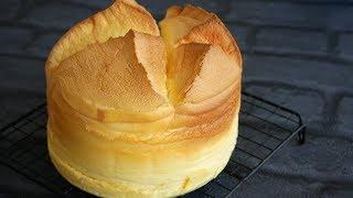 割れしゅわスフレチーズケーキ | My  Souffle Cheesecake!