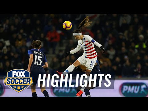 90 in 90: France vs. United States | Women's International Friendly Highlights