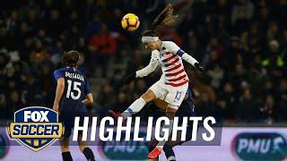 90 in 90: France vs. United States | Women's International Friendly Highlights