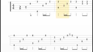 [TAB] Khi người lớn cô đơn Guitar Solo