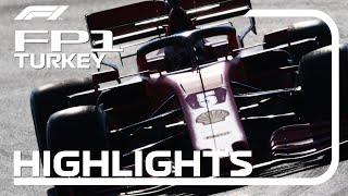 2020 Turkish Grand Prix: FP1 Highlights