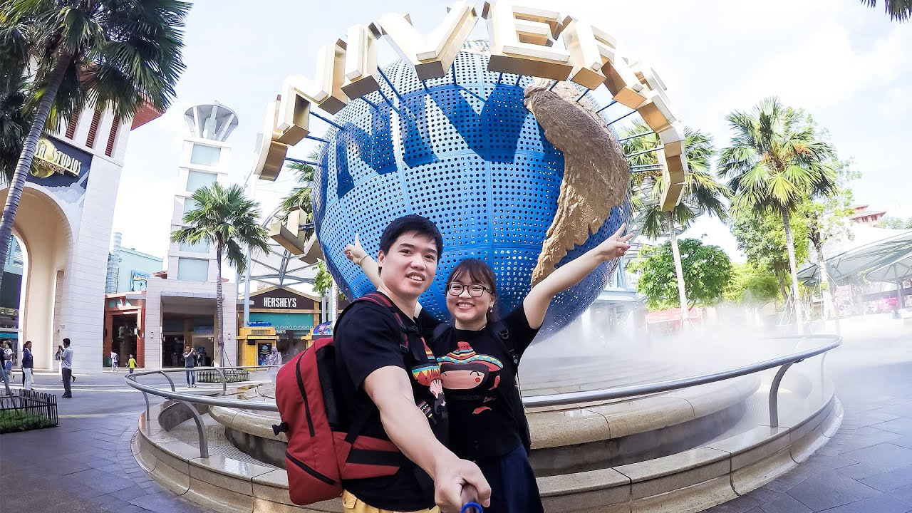Gu Singapore 2016 Day 5 Sentosa Uss Sea Aquarium Wings Of Tiket Time