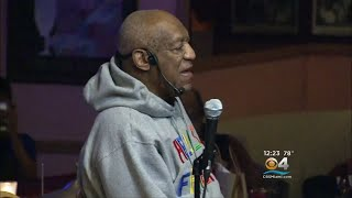 Retrial Looming, Bill Cosby Has 1st Public Performance Since 2015