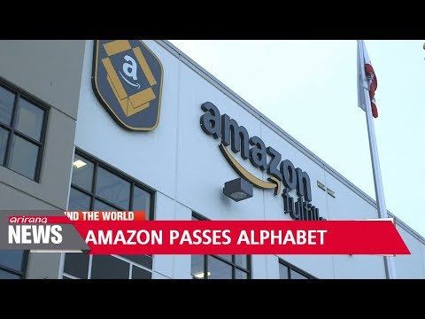 Amazon tops Google as second most valuable company in U.S.