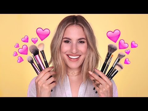 BRUSH STARTER KIT: My FAVORITE Brushes, AFFORDABLE + HIGH END | JamiePaigeBeauty
