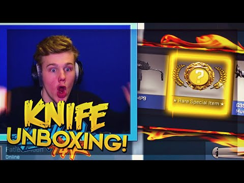 I UNBOXED A SECOND KNIFE?! - 2 Pinks And 1 Knife (CSGO EPIC KNIFE UNBOXING RAGE)
