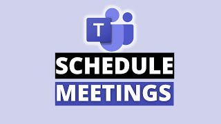 How to schedule a meeting in Microsoft Teams