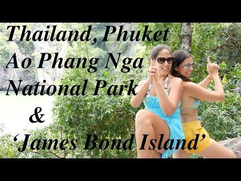 Phuket Thailand. 'James Bond Island' & Ao Phang Nga National Park