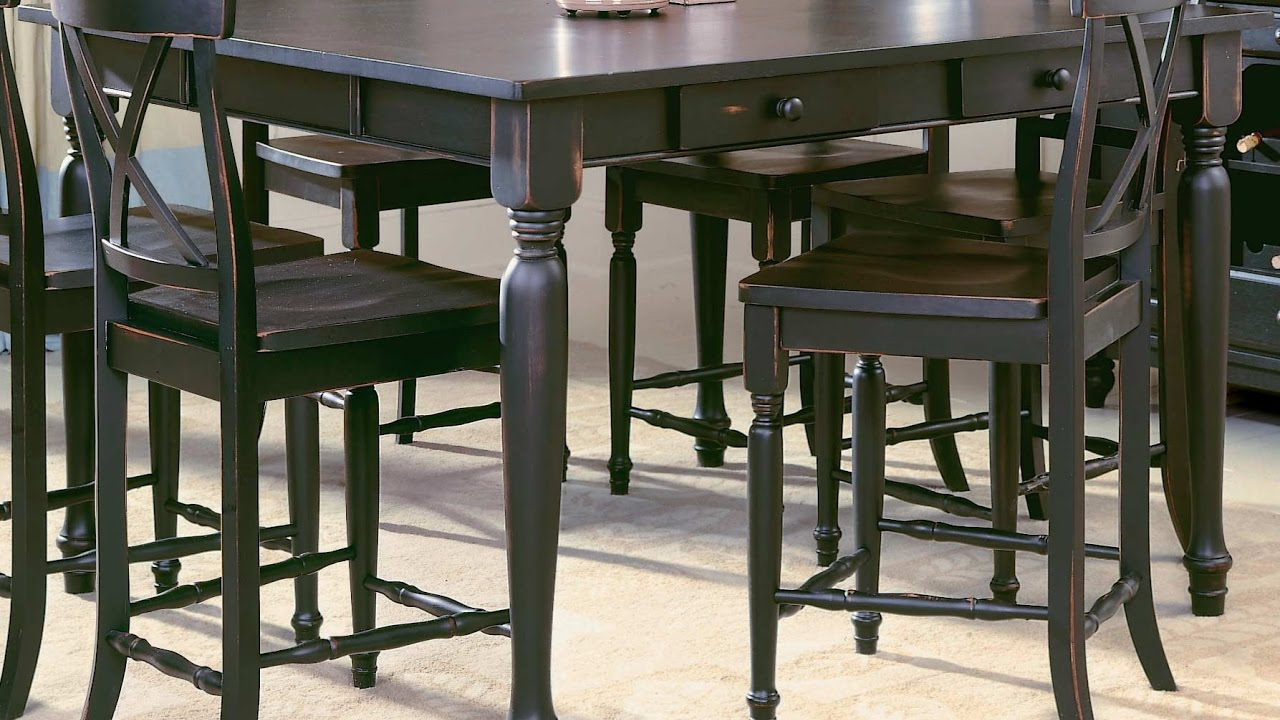 Bar Height Dining Table YouTube