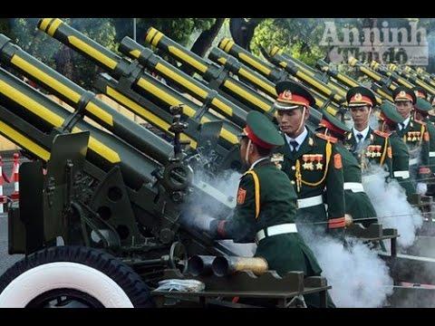 TRỰC TIẾP :  Bắn 21 Phát Đại Bác Chào Mừng 70 Năm Quốc Khánh 2/9/2015