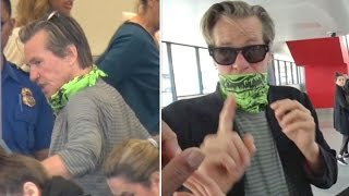 A Gaunt, Masked Val Kilmer Attacks Photographer And Speaks Incoherently At LAX